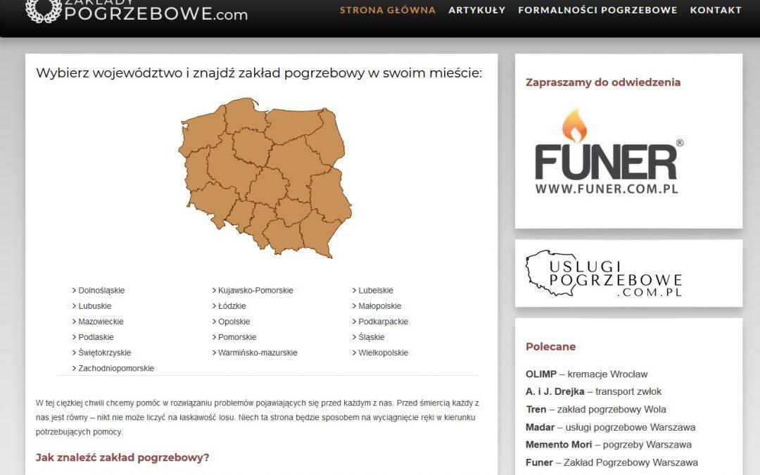 Zakłady pogrzebowe w Polsce